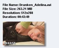пьяная аделина (2009) CamRip