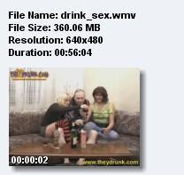 групповая пьянка (2009) CamRip