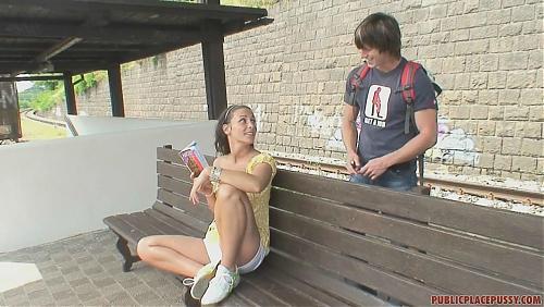 Секс на станции Chuchle в Праге / Ожидаем поезд  (2009) HDTVrip