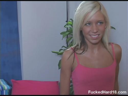 Массаж юной высокой блондинке. (2009) DVDRip