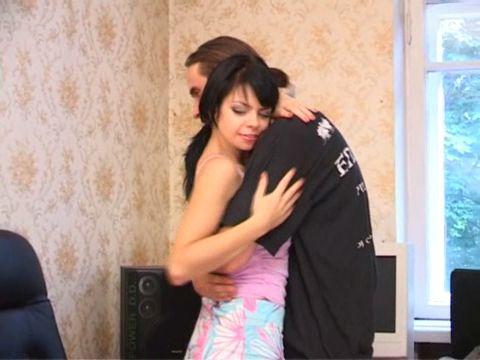 Любительское видео одной русской пары (2009) CamRip