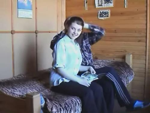 Малолетка и старый ловелас.Шедевр аматорского порно. (2002) DVDRip