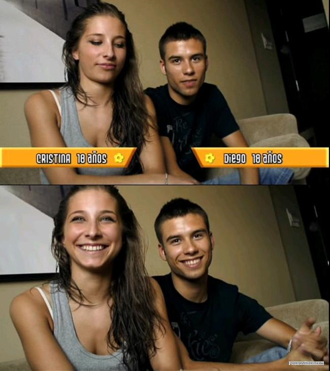 Young Spanish Couple have Sex - 18 Year Old Cristina (2009) Other