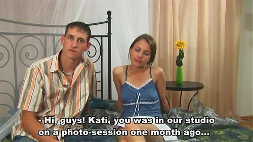 Лишение девственности-Катя Майорова. (2009) CamRip