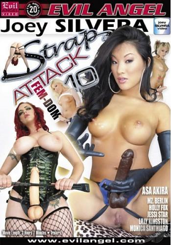 Strap Attack #10 / Атака пристегнутыми членами - 10 (2009) DVDRip