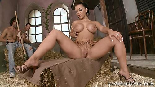 Liza Del Sierra - Ass in the barn, cock in the ass! (AssHoleFever.com/21Sextury.com) (2009) HDTVrip