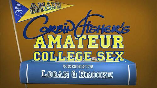 Amateur College Sex - Logon & Brooke (2009) SATRip