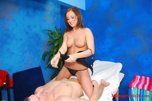 [MassageGirls18.com] Melissa Matters / Мелисса оттрахана на массажном столике [2009 г., All Sex, Straight] (2009) SATRip