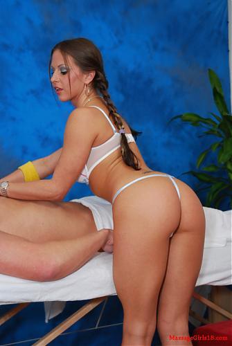 [MassageGirls18.com] Rachel Roxxx / Трахнули девоньку с косичками [2009 г., All Sex, Straight] (2009) SATRip