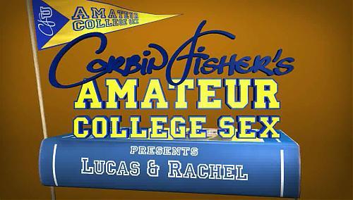 Amateur College Sex - Lucas & Rachel (2009) SATRip