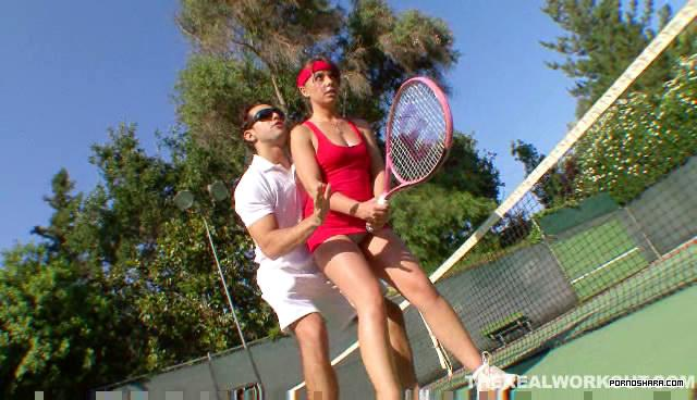 Тренировка в боольшой теннис (2007) SATRip