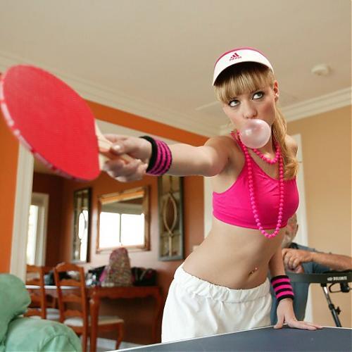[JurassicCock.com / PornPros.com] Nicole Ray () / Молодая блондиночка отдалась на столике для пинг-понга [2010 г., All Sex, Teen, Straight] (2010) SATRip