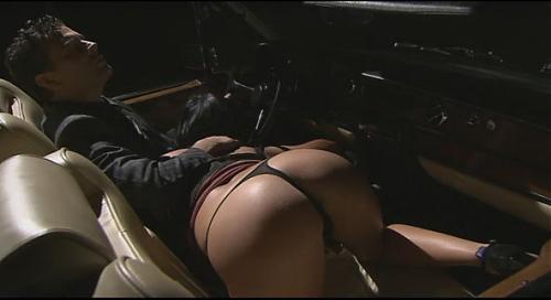 Секс в машине с обалденной брюнеточкой / Sex in a car  (2009) DVDRip