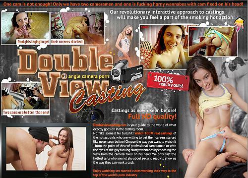 [DoubleViewCasting.com] МЕГА-ПАК: Анальный кастинг молодых девушек. (2010) SATRip