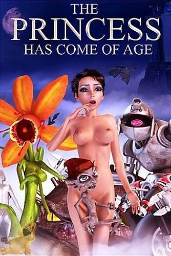The Princess Has Come Of Age / Повзрослевшая Принцесса (Black Widow Production) [2005 г., 3D, Sci-Fi, all Sex, monsters, plants, DVDRip] (2005) DVDRip