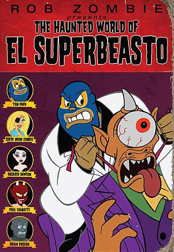 Призрачный мир Эль Супербисто / The Haunted World of El Superbeasto (2009) DVDRip