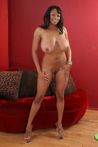 "Carmen Hayes (сцена из ""Black And Boobalicious"") [2009 г., Big tits, Ebony, Blowjob, DVDRip] (2009) DVDRip"