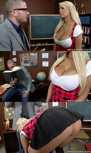 Bridgette B совращает ботаника!!!(Bridgette B  in :  Dick Is For Suck January 12th, 2010 | Bigtitsatschool.com |  Big dicks, Big tits, Blowjob, Titty fuck, Upskirt  (2010) SATRip