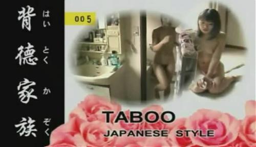 Incest.Av Joy.Taboo Japan style №005/Японский инцест №005 (2008) DVDRip