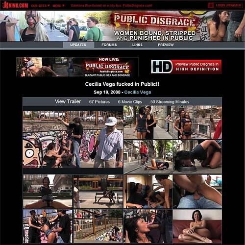 PublicDisgrace - Cecilia Vega (2008) CamRip