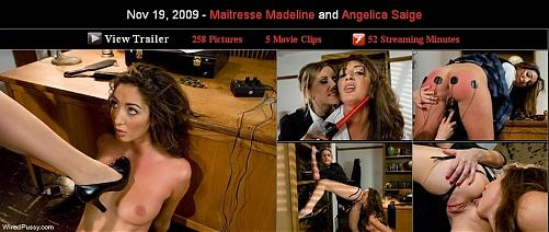 Maitresse Madeline and Angelica Saige (2009) SATRip