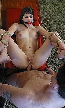 Fucked and Bound 0062 A CRAB TIE AND A BIG COCK MODEL: BOBBI STARR, CHRIS CANNON  (2008) SATRip