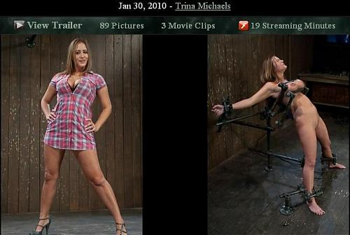 [BDSM] [Devicebondage.com / Kink.com] Jan 30, 2010 - Trina Michaels [2010 г., Bdsm, Bondage] (2010) DVDRip