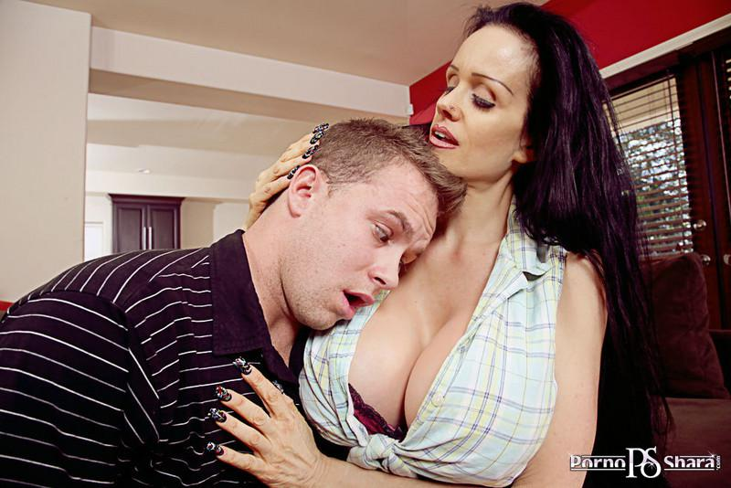 [MyFriendsHotMom.com / NaughtyAmerica.com] Sofia Staks (8999) [2010 г.,  Big Tits, Black Hair, Blow Job, Facial, Fake Tits, Hairy Pussy, Mature, Milf, Piercings, Titty Fucking]*Released: April 19, 2010* (2010) SATRip