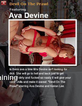 [MilfsLikeItBig.com / BraZZers.com] Ava Devine (Devil On The Prawl / 4776)[2010 г., Вig dicks, big tits, brunette, deep throat, facial, hardcore, uniform, anal, adultery, rough sex]*Released: April 21, 2010* (2010) SATRip