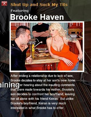 [MommyGotBoobs.com / BraZZers.com] BROOKE HAVEN (Shut Up and Suck My Tits ! / 4757) [2010 г., Big tits, blonde, blowjob, facial, milf, 720p]*Released: April 30, 2010* (2010) HDTV