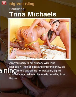 [BigWetButts.com / BraZZers.com] TRINA MICHAELS (Big Wet Bling ! / 4791) [2010 г., Big tits, big ass, facial, anal, busty, oil, 720p]*Released: April 30, 2010* (2010) HDTV