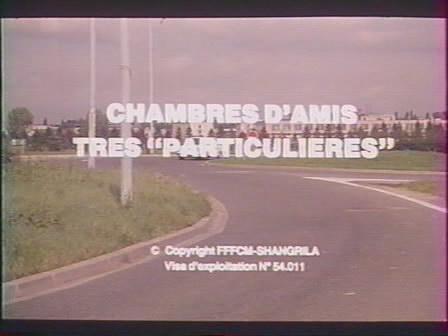 Chambres D'amis Tres Particulieres/Кровать для особых друзей (1982) DVDRip