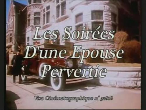 Les Soirees D'un Epouse Pervertie / Совращение молодой супруги (1980) DVDRip
