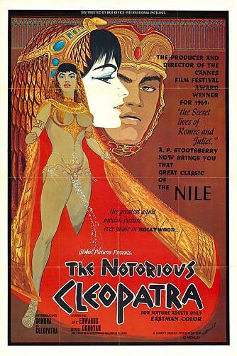 The Notorious Cleopatra / Прославленная Клеопатра (1970) DVDRip