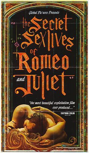 The Secret Sex Lives of Romeo and Juliet / Секретная сексуальная жизнь Ромео и Джульеты (1969) DVDRip