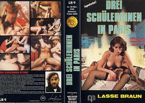 Drei Schulerinnen in Paris / Три лицеиста в Париже (1979) DVDRip