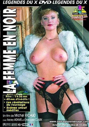 La Femme en noir / Женщина в трауре (Marc Dorcel) (1988) DVDRip