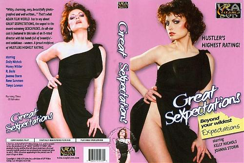 Великое сексожидание / Great Sexpectations [VCA Pictures, Henri Pachard, 1984 г.; All Sex, Classic; DVDRip] (Kelly Nichols, Joanna Storm, Honey Wilder в сиквеле к лауреату премий Sexpectations) (1984) DVDRip