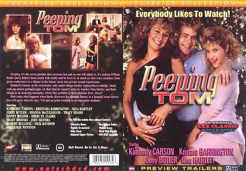 Peeping Tom / Любопытный Том (Robert McCallum, Metro) [1986 г., Feature, Vouyerism, Classic, DVDRip] Nina Hartley, Shanna McCullough, Kristara Barrington (1986) DVDRip