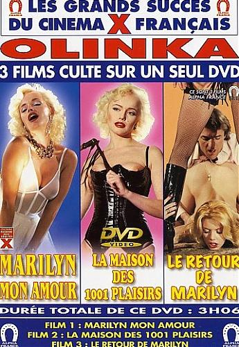 Marilyn Jess & Olinka Hardiman - Le Retour de Marilyn / Comeback of Marilyn / Возвращение Мэрилин (Michel Lemoine as Michel Leblanc / Alpha France / Mike Hunter / Herzog) [1984 г., All Sex, DVDRip]Isa Derry, Mina Houghe (1984) DVDRip