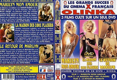 Marilyn Mon Amour / Marilyn My Love / Моя любовь-Мерилин(Olinka Hardiman) (Michele Leblanc / AlphaFrance) [1985 г., Classic , Hardcore, DVDRip] (1985) DVDRip