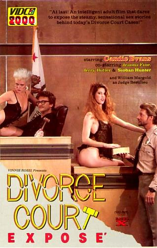 Divorce Court Expose / Бракоразводный процесс (Vinni Rossi, Vidco Entertainment) [1987 г., All sex, VHSRip] (Jeanna Fine, Honey Wilder, Candie Evens) (1987) DVDRip