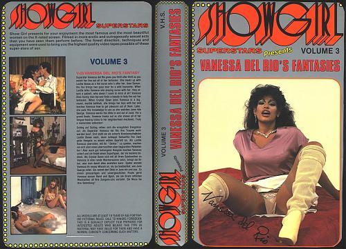Showgirl 3: Vanessa Del Rio's Fantasies / Фантазии Vanessa Del Rio (Compilation, VCR) [1981 г., Classic, Straight, Compilation, DVDRip] (1981) DVDRip