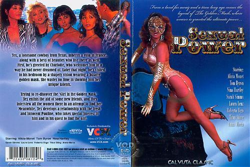 """Sexual Power / Сексуальная власть (Henri Pachard, Metro / Cal Vista) ... в поисках """"Золотой Маски"""", дающей предельную сексуальную власть! (1988) DVDRip"""