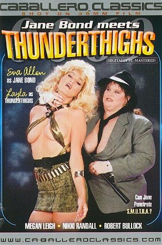 Jane Bond Meets ThunderThighs / Джейн Бонд встречает Бёдра Грома (Henri Pachard, Caballero Home Video / Vidco Entertainment) [1988 г., Feature, Spoofs, Straight, Classic, DVDRip] (1988) DVDRip