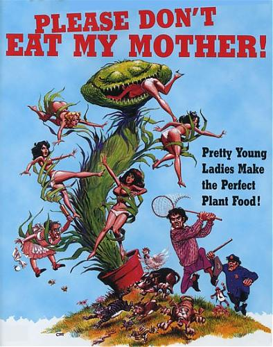 Please Don't Eat My Mother / Пожалуйста, не ешь мою маму (Carl Monson / Something Weird Video) [1973 г., Classic ,   Erotic  Parody, DVDRip] (Rene Bond) (Glump, Hungry Pets, Sexpot Swingers) (1973) DVDRip