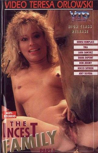 The Incest Family 1-2 / Инцест семья часть 1 и 2 (John Francis, Video Teresa Orlowski) [1991 г., Feature, VHSRip] (1991) DVDRip