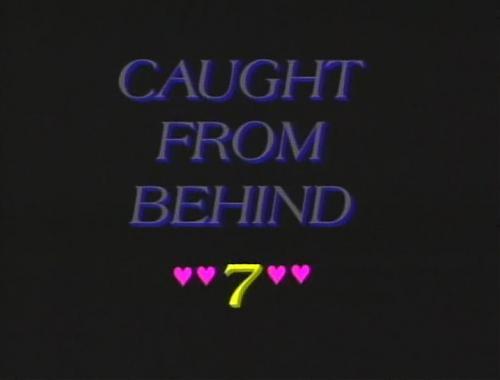 Пойманные за задницу 7 / Caught From Behind 7  (Hollywood Video) [1987 г., Anal, Classic, Plot Based, DVDRip] (1987) DVDRip
