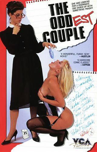 The Oddest Couple / Самая странная пара (Henri Pachard, VCA) [1986 г., All sex, oral, anal, lesbian, orgy, VHSRip] (1986) DVDRip