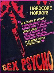 Sex Psycho / Секс психоз (Walt Davis / SWV) [1970 г., horror, hardcore, VHSRip] (1970) DVDRip